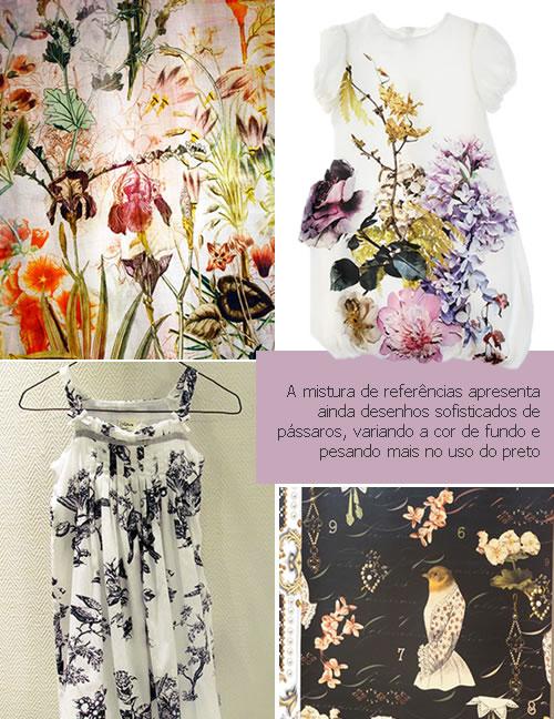 quadro1 - Padronagem floral é a aposta para o público infantil