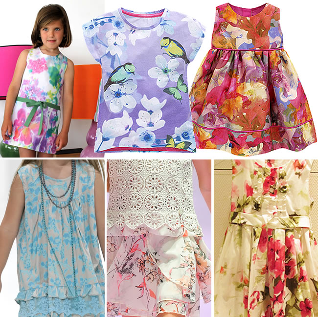 quadro2 - Padronagem floral é a aposta para o público infantil